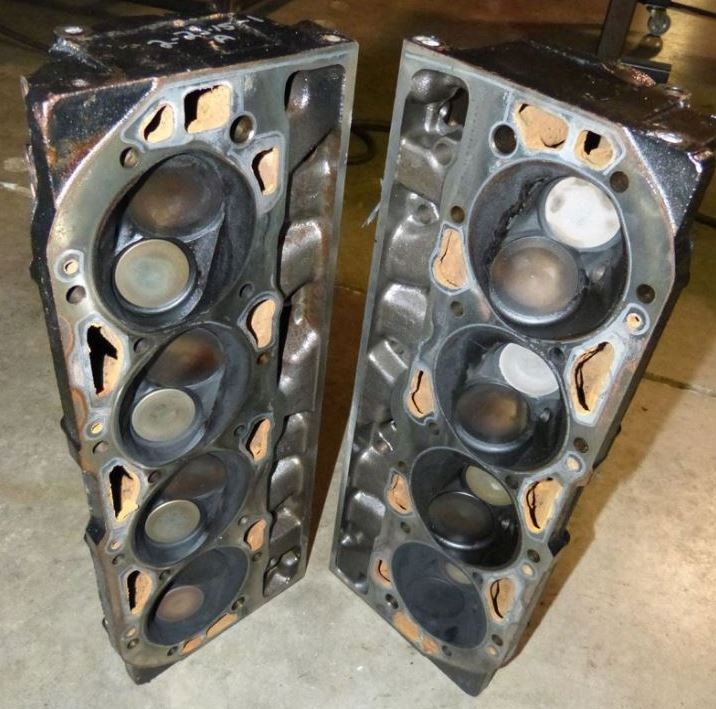 Mercury 454 Heads - used